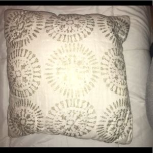 Other - Gold and cream pillow